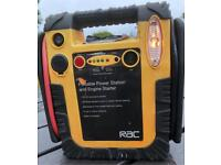 RAC 12 volt battery booster 4 car motor bike boat lawn tractor scooter etc
