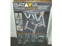 BATAVIA TRANSFORMER WORKBENCH STEP LADDER 4 IN 1 NEW