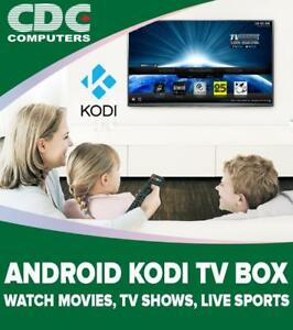 ANDROID TV BOXES, KODI 17, STREAMING PLAYER, TV SHOWS, MOVIES