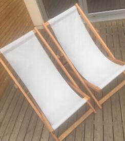 Southsea Deckchairs Wooden Deckchairs (MADE, Habitat, Dwell, Hoppen)