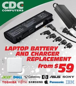 Laptop Notebook Apple Mac Battery and Charger Replacements starting from $59