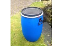 30L dry storage barrel, bought new unused