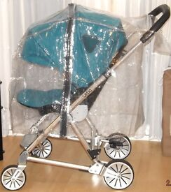 UNIVERSAL RAINCOVER , FITS MOST PRAM AND PUSHCHAIRS ,***NEW ***