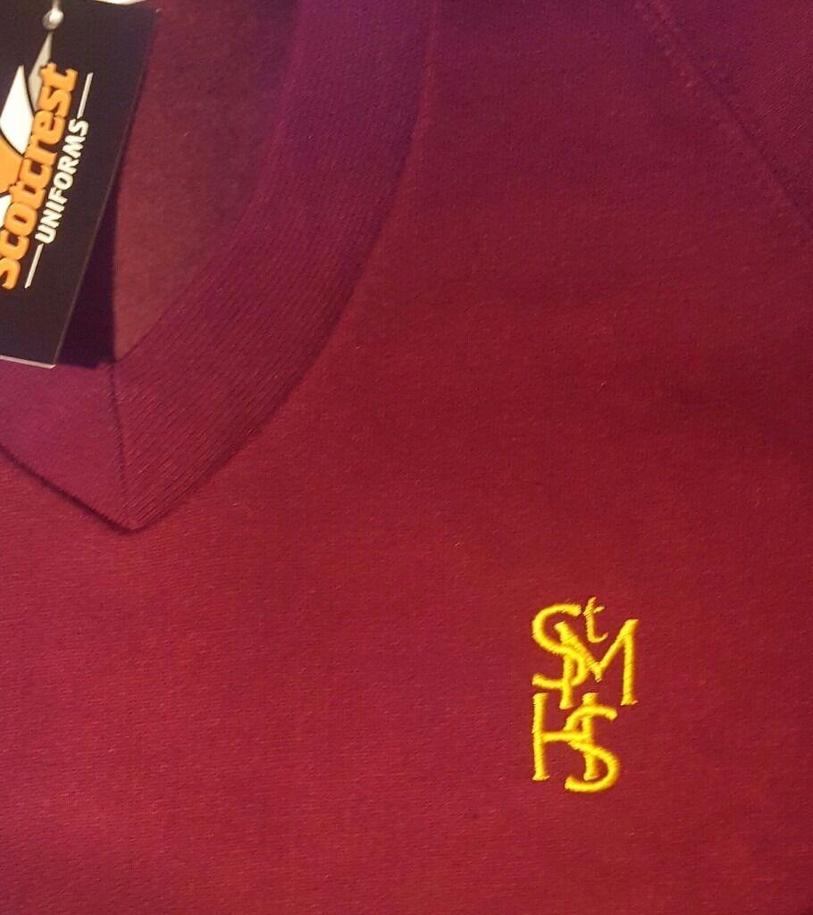 St Modans School Sweatshirts x3 (smallin Bonnybridge, FalkirkGumtree - 3 brand new Sweatshirts... excellent condition...never worn (labels on 2 sweatshirts). Great bargain