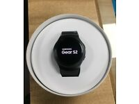 SAMSUNG GEAR S2 4 GB 512 MB RAM BLUETOOTH CONNECTION GREY ACCELEROMETER GYRO HEART RATE BAROMETER