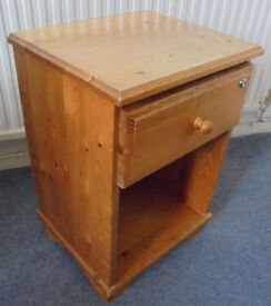 Pine Bedside To Paint
