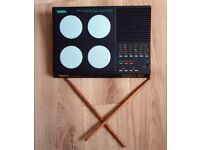 Yamaha DD5 Drum Machine with Sticks & Power Adapter