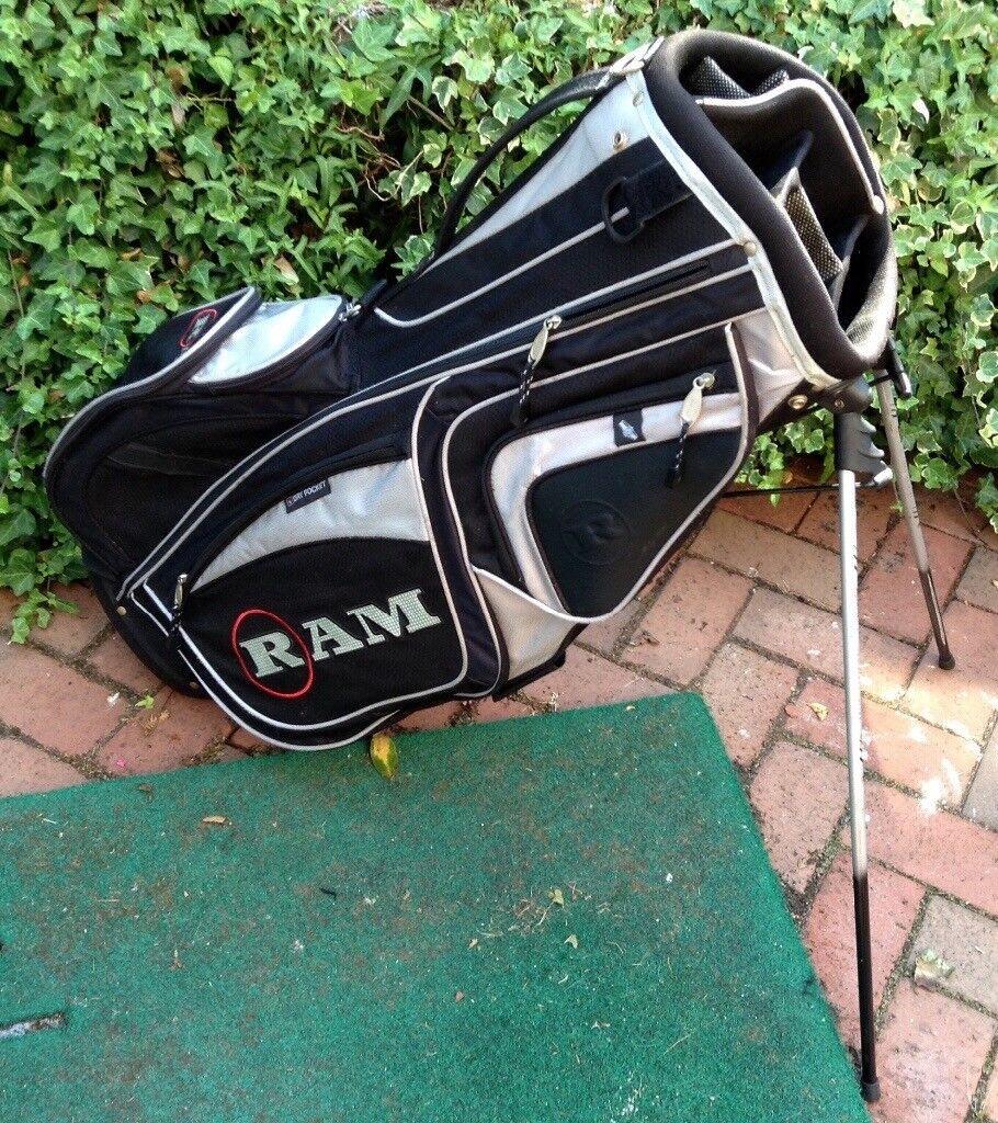 a4edb34f9f Ram Golf Carry Stand Bag - Excellent!!!