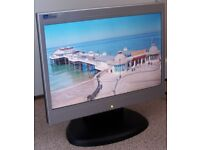 LiteView 15.4 Inches Widescreen LCD Monitor, PC/Desktop Monitor With Speakers