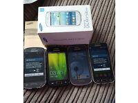 x4 samsung Mobile phone bundle