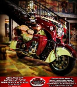 2015 Indian Motorcycles Roadmaster LOTS OF $$ INVESTED IN UPGRAD