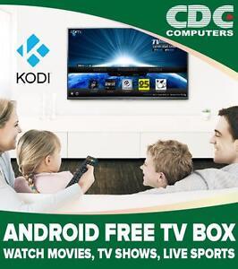 Android Free TV Box, Kodi Box, TV Shows, Movies, Sports, Streaming Media Box