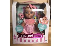 Luvabella Interactive Blond Doll By Spinmaster Sealed Brand New