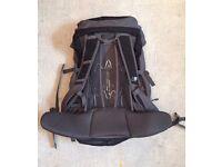 Karrimor Adult Wind 35 + 5 Backpack - Black/Charcoal