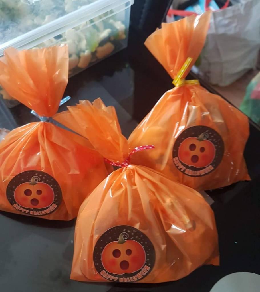 Pick n mix Halloween bags