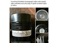 Portaflash photography lights