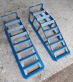 Car Ramps - 2 tonne - Halfords - good condition