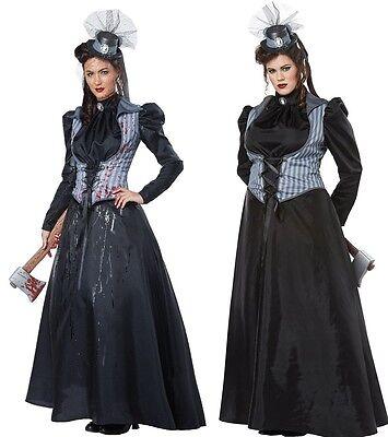 Supernatural Victorian Lizzie Borden Costume Haunted House Musuem Crime Murder (Lizzie Borden Costume)