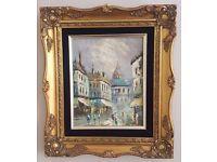 Beautiful original Impressionist painting - Paris