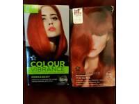 Superdrug red hot hair dye X 2