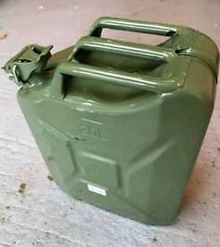 Wavian 20L Jerry Can Olive Green OG Pre-owned x2 @ £19.99 each