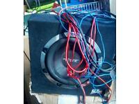 Vibe slick pack subwoofer, amp and wiring kit