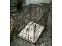 small dog cage good condition