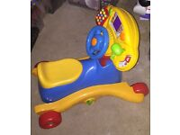 Toddler 3 n 1 rocker bike