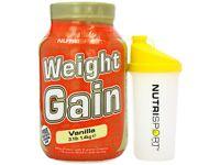 Nutrisport Mass weight Gain 1.4kg + Free Shaker