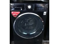 LG Washing Machine 8KG in Black~~ Great Condition~~ BARGAIN £120~~