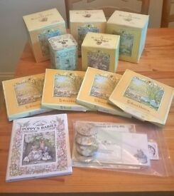 * *Brambley Hedge Royal Doulton seasonal plates, matching cup and saucer + accessories - BUNDLE * *