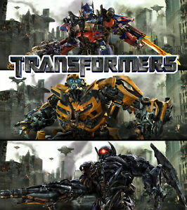 Transformers 3 MOVIE Fabric poster 16