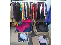 Mixed Clothing Job Lot - Approx 125 items - 95% are BRAND NEW
