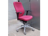 VERCO PROFILE EXECUTIVE TASK CHAIRS - HI QUALITY PROPER CHAIRS - NOT JOKING CHINESE RUBBISH