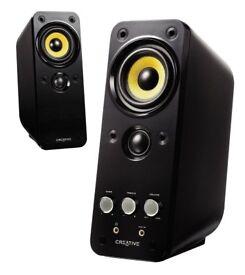 SPEAKERS - Creative GigaWorks T20 Series II (2.0) Multimedia Speakers with BasXPort Tech