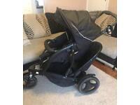 Graco double buggy . Double pushchair. Stroller . Pram