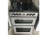NEWHOME 60CM WIDE ELECTRIC & GAS COOKER EXCELLENT CONDITION, 4 MONTH WARRANTY