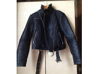 LADIES NEW ATMOSPHERE FAUX LEATHER JACKET size UK 8 or 10 - FREE DELIVERY ALL LONDON