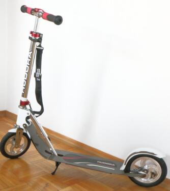 hudora cityroller roller big wheel air 205 scooter mit. Black Bedroom Furniture Sets. Home Design Ideas