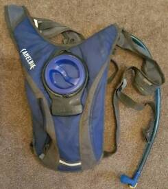 For sale is Camelbak hydration backpack.