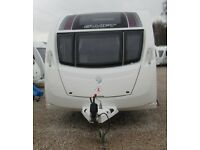 SWIFT CHALLENGER HI-STYLE 2012 *FIXED BED* 4 BERTH CARAVAN