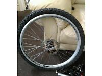 "Mountain bike 24"" wheels"