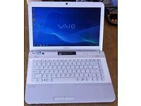 "SONY VAIO VPCEG32FX, DUAL CORE 2.2, 4GB RAM, 640GB HARD DRIVE ON WINDOWS 7 14.1"" SCREEN"