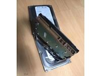 """IDE desktop 3.5"""" hard drives 5x 160gb in very good condition £25"""