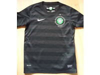 Boys Celtic Away Top 2012 - Black - Medium - age 10-12 years