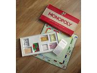 Board Games: Monopoly, Knock-Em-Out, Robin Hood Game, War of the Daleks