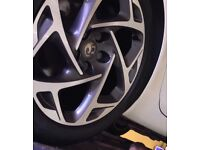 Vauxhall VXline 2017 Alloys 19inch with tires sport
