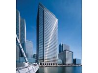 Office space in London Canary Wharf E14   From £199 per person p/w !
