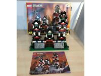 Classic Rare Lego 6093 Flying Ninja's Fortress, Boxed, Instructions, Excellent