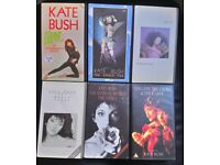 RARE Kate Bush VHS collection - complete set of 6 tapes *REDUCED*